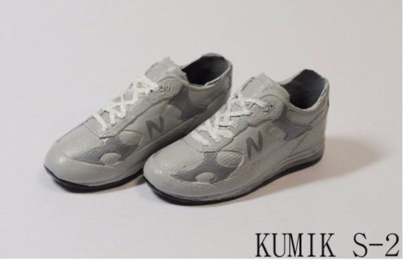 KUMIK S-11 Sports Shoes Model 1//6 scale Black Female Shoes For 12'' Figure
