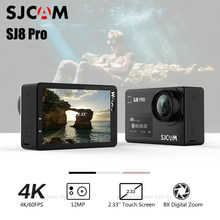 Original SJCAM SJ8 Pro Sport Action Camera 4K 60fps WiFi Dual Screen Touch Control 12MP Ambarella H22 S85 170 Wide Angle(China)