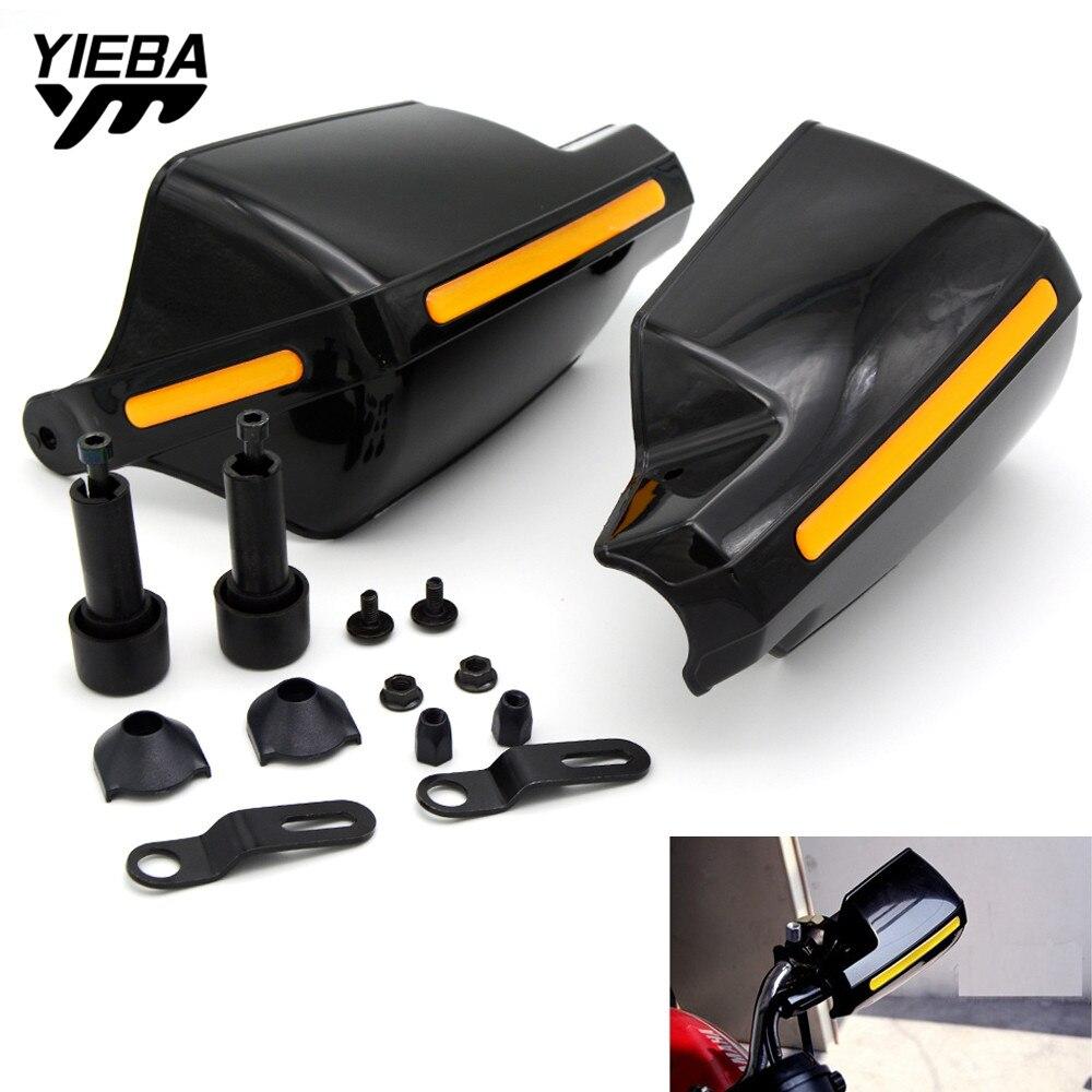 1Pair Universal Motorcycle Handguards Protectors Pattern Hand Guards for yamaha YZ250F YZ426F/450F YZ250X kawasaki KX65 KX85/100