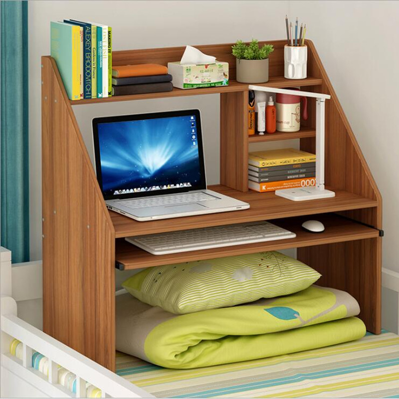 Modern Bed Computer Desks mesa para cama Notebook Rack Shelf Dormitory Bed Lap Desk Laptop Wooden Table escritorio de oficina