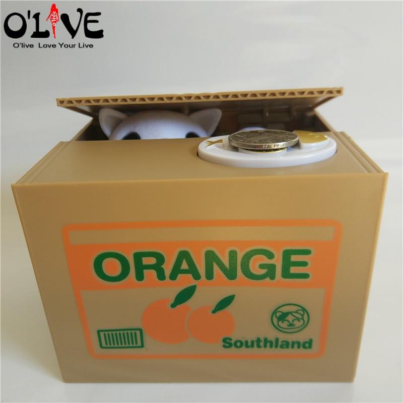 Panda Thief Money toy piggy bank - money boxes - Coin Piggy Bank - Money Saving Box 14