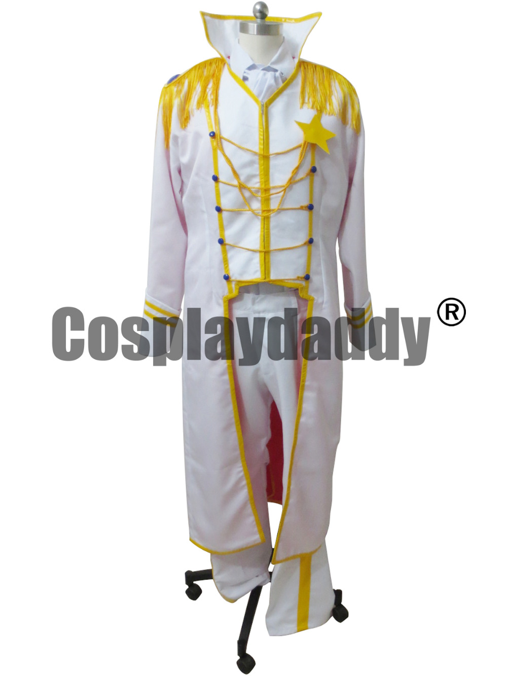 Custom made Galactic Pretty Boy Star Driver Kagayaki no Takuto Tsunashi Cosplay Costume