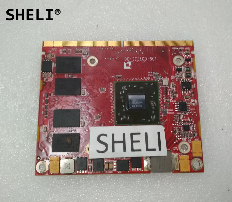 SHELI For 2310 HD5650 Video Card Graphics VGA Card 1GB 109-C07731-00 CN-0019W1 0019W1 019W1 vg 86m06 006 gpu for acer aspire 6530g notebook pc graphics card ati hd3650 video card