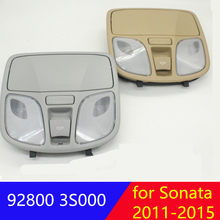 Hyundai Sonata YF için 2011-2015 kubbe ışık okuma lambası sunroof anahtarı araba gözlük vaka okuma ışık haritası