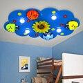 Детский фонарь Божья коровка светодиодный потолочный Детский Светильник с подсолнечником мультяшный цветок детская комната освещение пот...