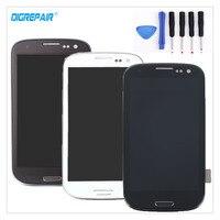블랙/화이트/블루 삼성 갤럭시 S3 i9300 LCD 디스플레이 디지