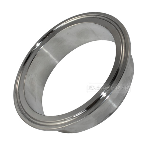 "2/"" 51MM OD Sanitary Pipe Weld on Ferrule Tri Clamp Grade 316 Stainless Steel UK"