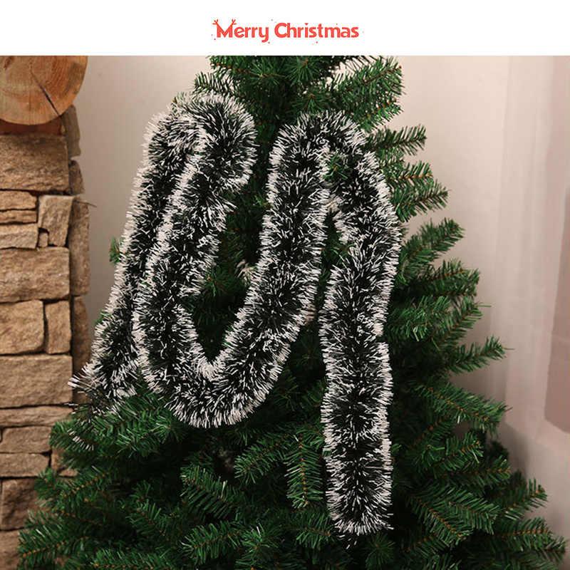 2M Christmas Party Decoraties Kleur Bar Voor Outdoor Winkel Kerst Ornamenten Xmas Tree Ornamenten Guirlande Lint Klatergoud Opknoping