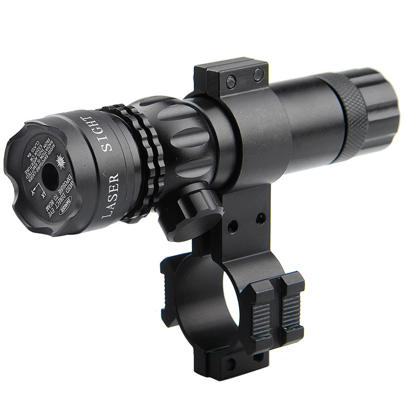 Adjustable Green Laser Sight With Mount & Remote Pressure Switch 3-1G-07