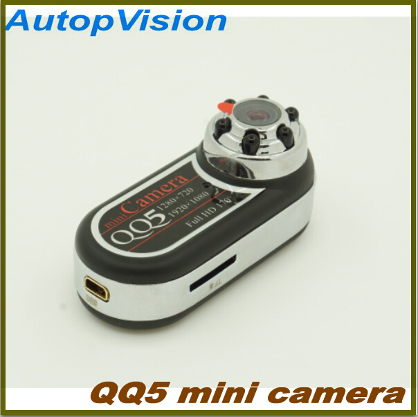 10pcs free shippingQQ5 Mini Camera Full HD 1080P 720P Infrared Night Vision DV Camera Camcorder 12MP Mini  Webcam 170 Wide Angle