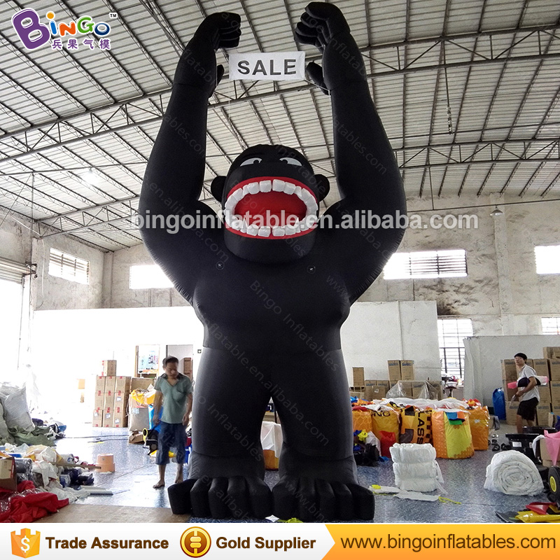 66a8ca2db Customized 5.5M high giant Inflatable Chimpanzee for advertising 2018 hot sale  Inflatable gorilla Replica for