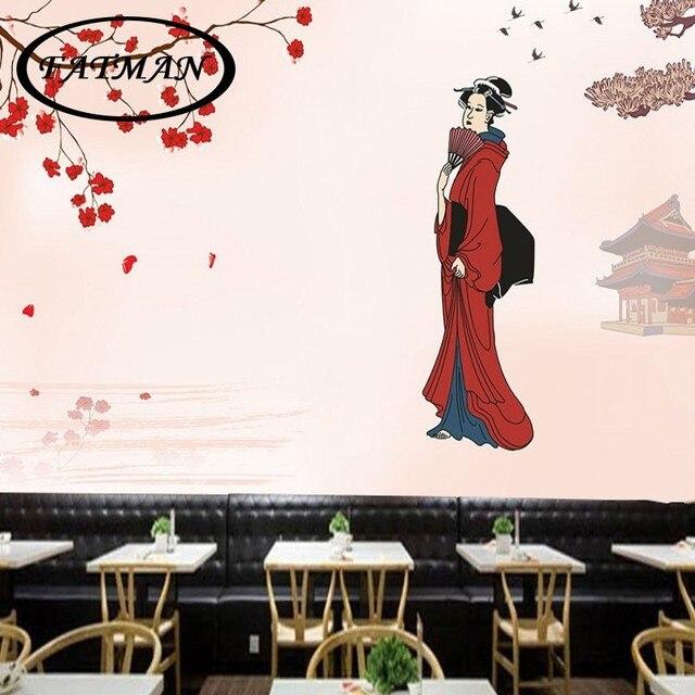 Personnalise Photo Papier Peint Fleur De Cerisier Japonais Style