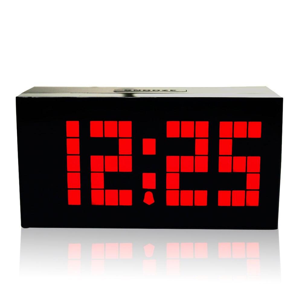 KOSDA réveil Saat le calendrier minuterie thermomètre numérique Nixie horloges bureau électronique horloge de bureau Reloj Despertador - 2
