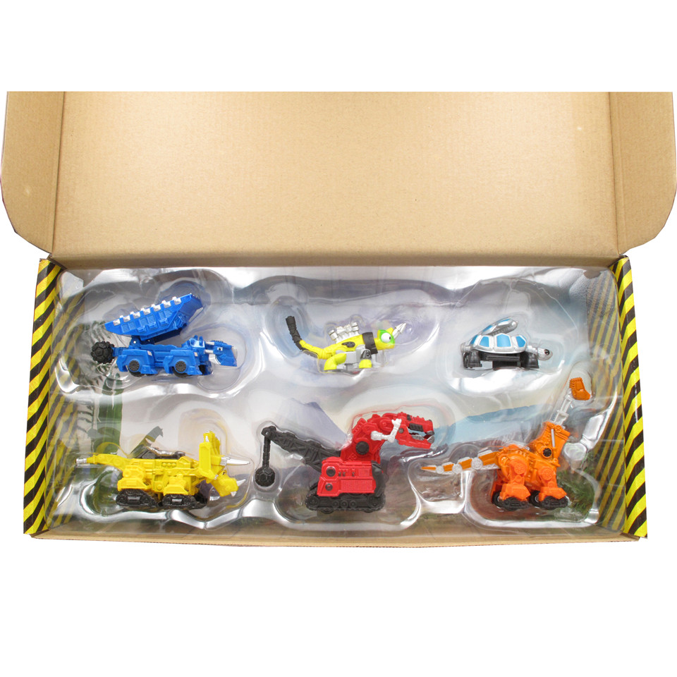 Dinotrux Truck Toy Car Dozer TON TON Revvit Dinosaur Toys Dinosaur Models Children Present Mini Toys Of Children