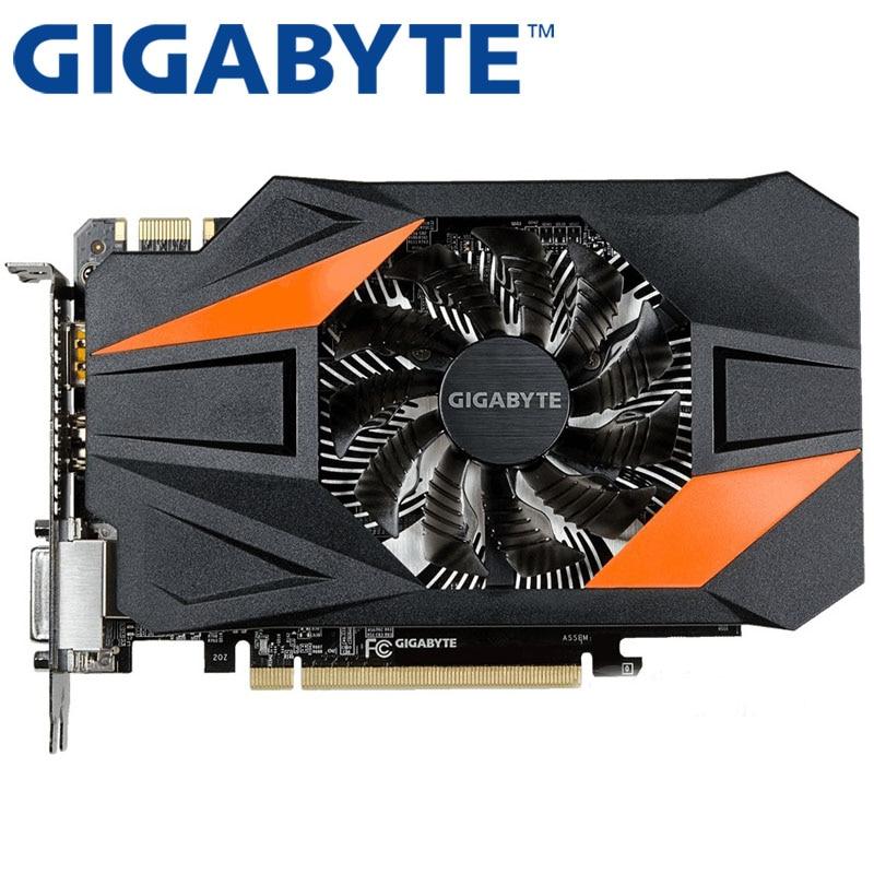 GIGABYTE Graphics Card GTX 950 2GB 128Bit GDDR5 Video Cards for nVIDIA VGA Cards Geforce GTX950 Used  GTX 750 Ti 1050 GTX750 window valance