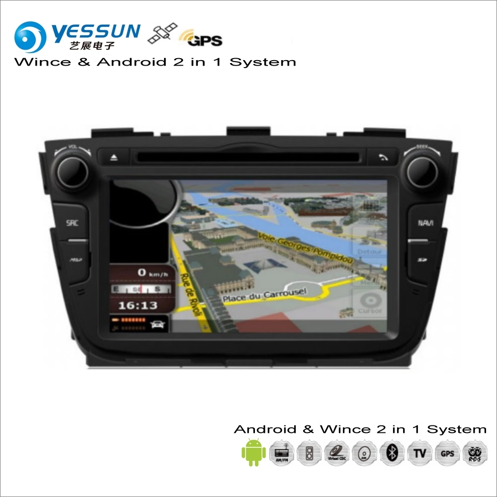 YESSUN For KIA Sorento 2013~2014 - Car Android Multimedia Radio CD DVD Player GPS Navi Map Navigation Audio Video Stereo System yessun for mazda cx 5 2017 2018 android car navigation gps hd touch screen audio video radio stereo multimedia player no cd dvd