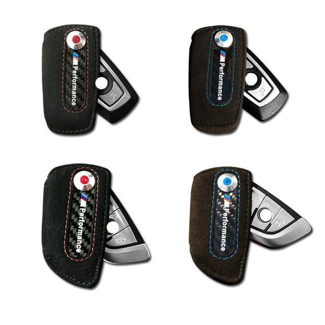 Leather car key case For bmw x1 x3 x4 x5 x6 116i 118i 320i 316i 325i 330i E90 F10 F20 F30 530i,keychain holder cover bag