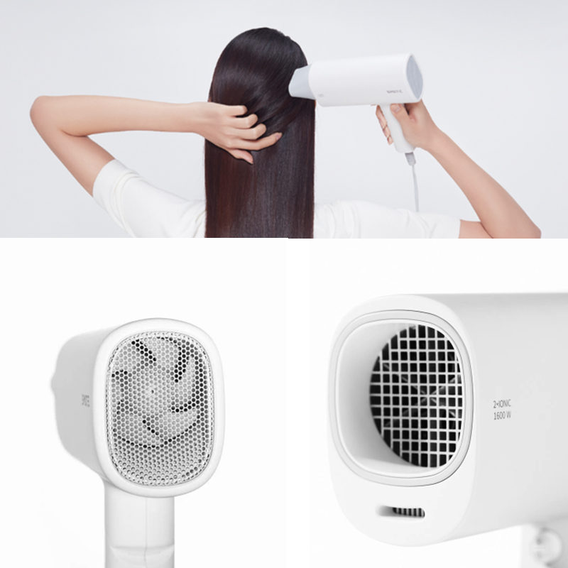Original Xiaomi Mijia SMATE Electric Hair Dryer Travel Household Hairdryer Hairstyling Tools Blow Dryer Hot Cold 1600W Blower