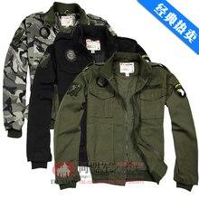 101 AASLT Jacket Us Army Men Military Uniform Bomber Jacket Air Force Men's Chaquetas militare men jaquetas militares Jackets