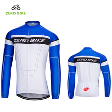 ZEROBIKE Hot 2017 Spring & Autumn Men's Long Sleeve Cycling Jersey Quick Dry Breathable Bicycle Clothing M-XXL