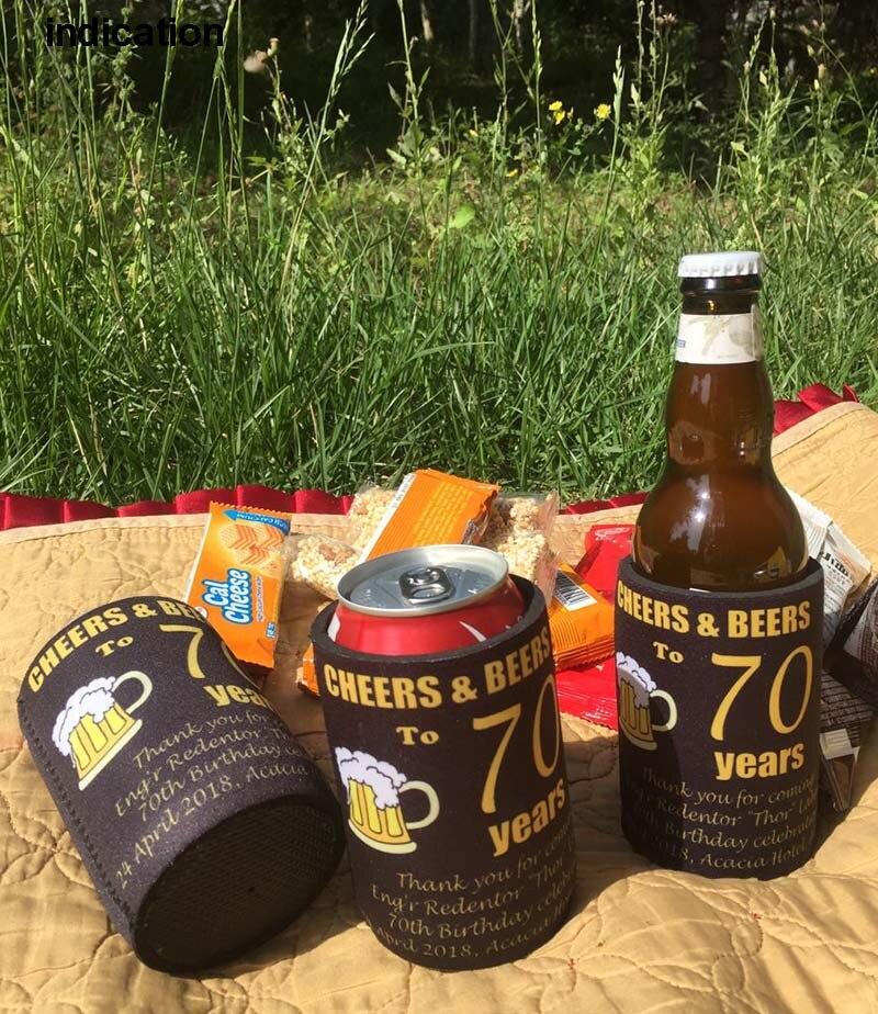 100 Stücke Werbe Neopren Bier Flaschenkühler Dicke 5mm Stummelhalter Mit Festen Boden Benutzerdefinierte Ihre Eigene Logo Für Hochzeit Klar Und GroßArtig In Der Art