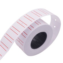 12000 pcs 20 Volumes Stationery Label Sticker 22*12mm Shops Home Students Schools Offices Product Price Tag Code Paper