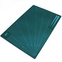 ירוק A3 Pvc עור בד קווי רשת כלי ריפוי עצמי חיתוך מחצלת מלבן נייר קרפט DIY tools 45 ס