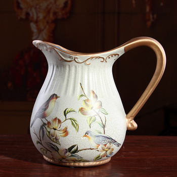 Factory direct European Garden ceramic vase flower Home Furnishing jewelry ornaments gifts XC234