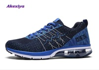 Akexiya Sneakers for men running shoes Comfortable Breathable men shoes Wear resistant running shoes men outdoor