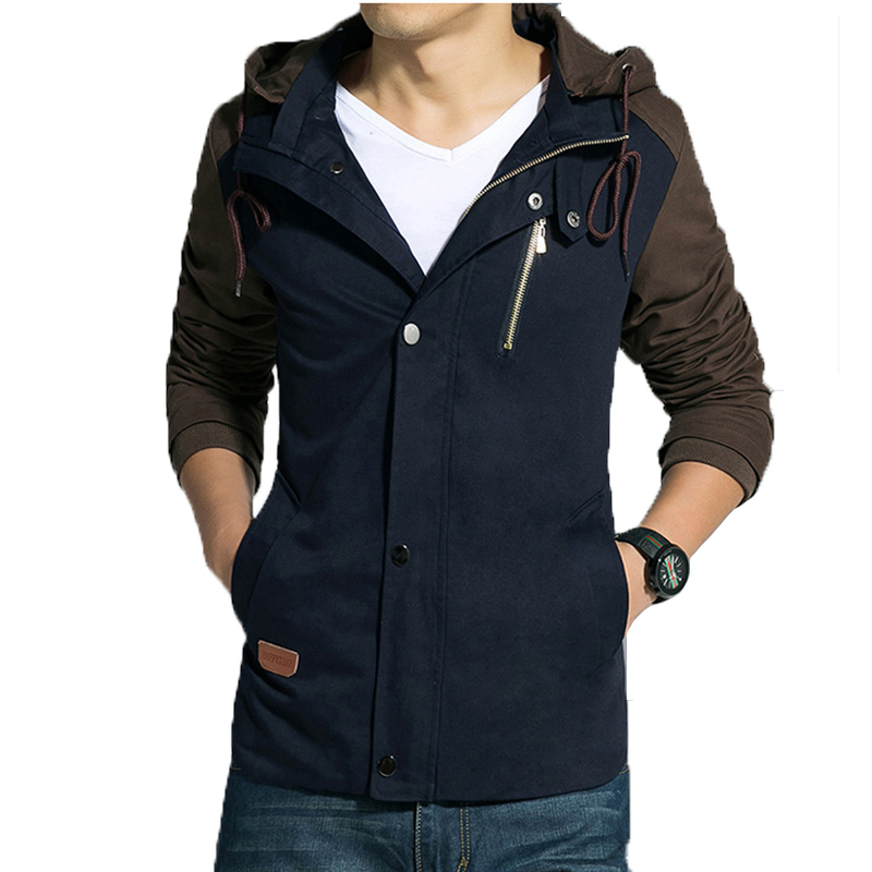 Herenjack 2017 lente nieuwe collectie toevallige hoodies jas heren - Herenkleding - Foto 2