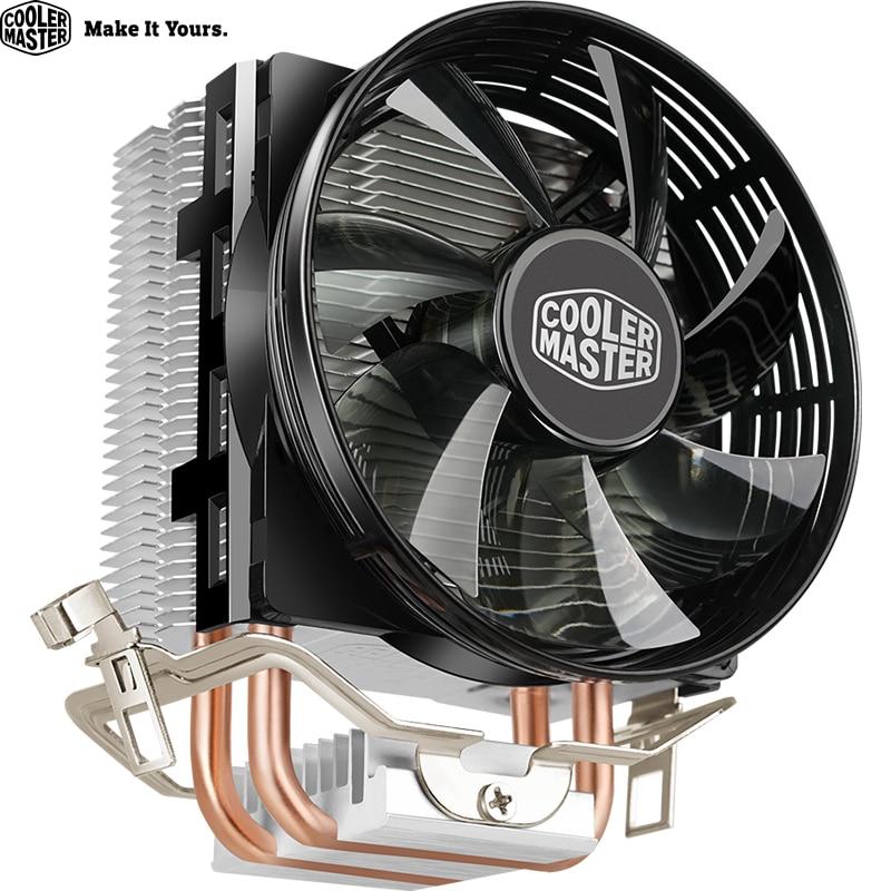 1155 1151 1150 Contr/ôle de Temp/érature 20000H Refroidisseur de Processeur Silencieux avec Ventilateur de Tour Double pour INTEL 775 Refroidisseur de Processeur pour AMD 1156 pour INTEL bleu