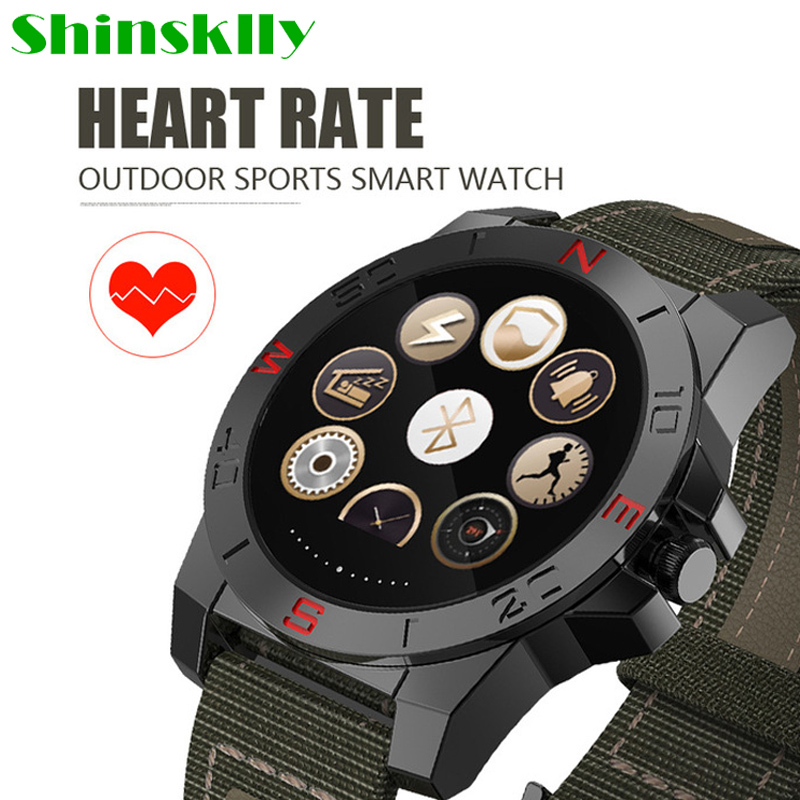 Men Girl N10B Smart Watch Outdoor Sport Smartwatch with Heart Rate Monitor Compass Waterproof Bluetooth Wach for IOS Android цена