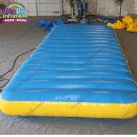 6 м * 2 м * 0.3 м надувные Гимнастика коврики, надувной гимнастический Подушки, воздушный акробатика трек матрас, Вода плавающей платформе