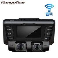 Dual Lens Full HD 1080P + 1080P Car DVR Registrator Novatek 96660 Dual Camera Car Camera 170 Degree Video Recorder Dash Cam B90D
