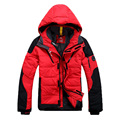 free shipping man's winter down jacket casual warm jacket men white duck down men solid men's winter coat Size S-XL 6 colors