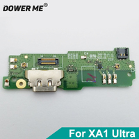 Dower Me USBชาร์จชาร์จพอร์ตDock Connectorไมโครโฟนไมค์สายแพรวงจรคณะกรรมการสำหรับSONY X Peria XA1อัลตร้าG3226 XA1U