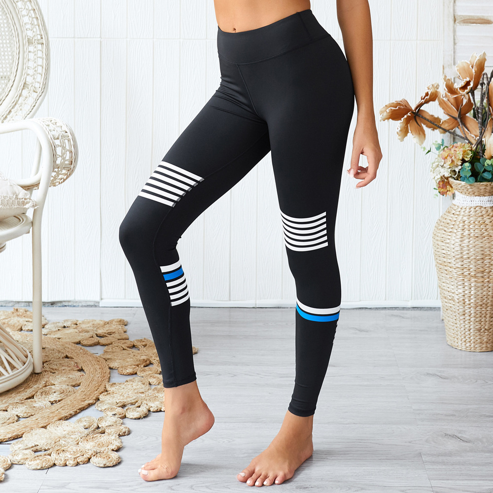 New Women High Waist Yoga Pants Push Up Breathable Fitness Sports Leggings Running Tights Sportswear Slim Gym Clothing Female in Yoga Pants from Sports Entertainment