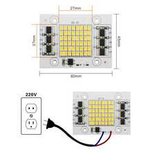LAN MU SMD2835 LED Lamps Chip 220V 20W 30W 50W LED Light Smart IC For Outdoor Flood Light Cold/Warm White LED Light Chips