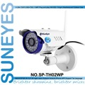 SunEyes SP-TH02WP ONVIF 720P 1.0 Megapixel HD Wifi Wireless IP Camera Outdoor P2P Plug and Play IR CUT  RTSP H.264