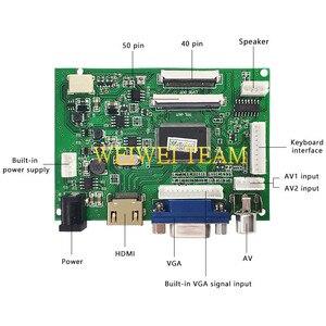 Image 5 - 1280 × 800 10.1インチタブレット液晶パネルipsディスプレイVS TY2662 V1ドライバボード40ピンttl lvdsボードvga 2AV 50PIN