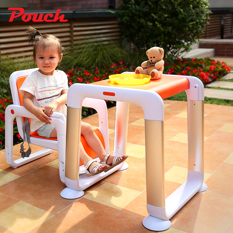 Pouch split dining chair height adjustable dining chair multi-purpose children's dining chair the silver chair