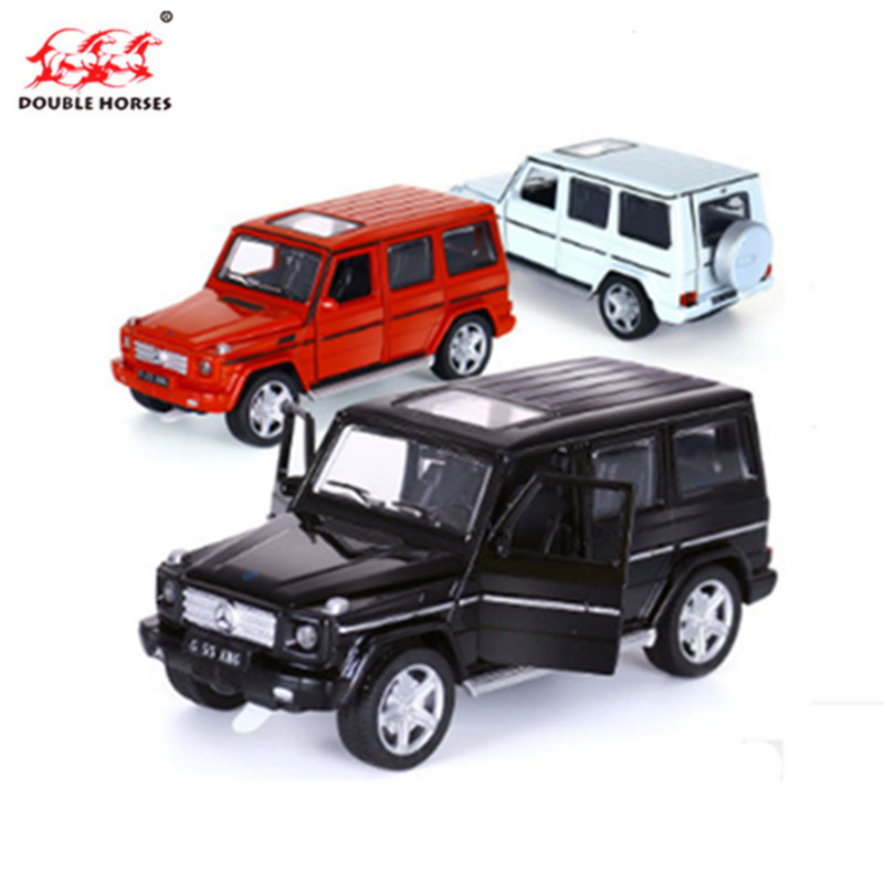 City SUV Benz G55 AMG 1:32 Toy Vehicles Alloy Pull Back Mini Car Alloy Model Diecast Car Model Collection Childrens Boys Toys 1 32 alloy pull back toy car model musical