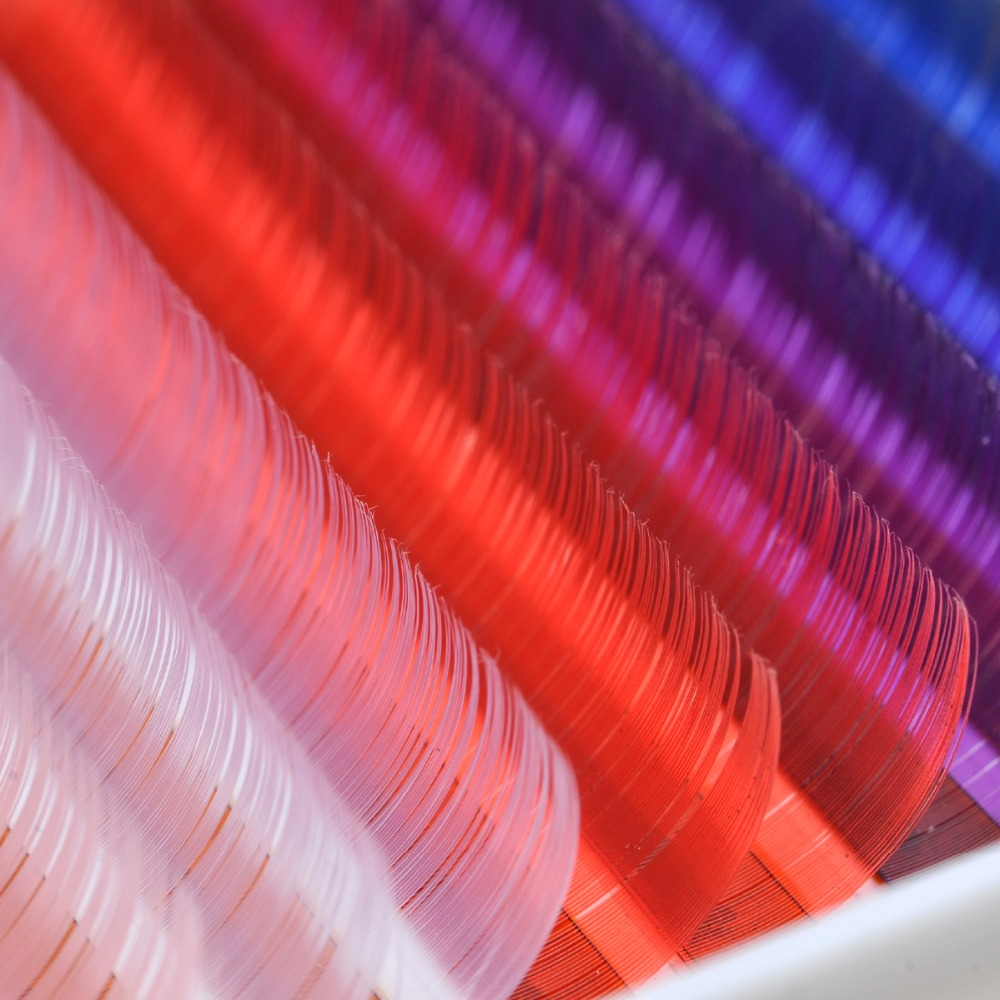 0.10 grosime C D curl 10mm 12mm 14mm 8 culori / set genelor false - Machiaj - Fotografie 2
