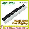 Apexway 6600 mah da bateria do portátil para asus eee pc 1001 p 1001px 1005 1005 h 1005 p 1101ha al31-1005 al32-1005 ml32-1005 pl32-1005