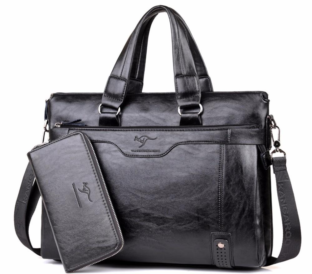 หนังผู้ชายกระเป๋าถือ Vintage กระเป๋าเอกสารหนังกระเป๋าแล็ปท็อปกระเป๋าคอมพิวเตอร์กระเป๋าสะพายชายบุรุษกระเป๋าถือ-ใน กระเป๋าเอกสาร จาก สัมภาระและกระเป๋า บน AliExpress - 11.11_สิบเอ็ด สิบเอ็ดวันคนโสด 1