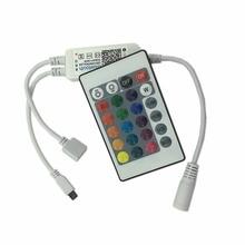 2pcs DC5-24V RGB RGBW Light Bar Bluetooth LED Controller Lights String  IR Remote Dimmer 3-Way 4-Pin (RGB) , 4-Way 5-Pin (RGBW)