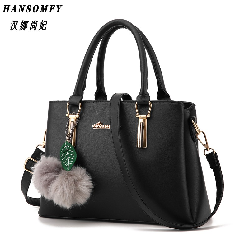 HNSF 100% Genuine leather Women handbags 2017 New fashion embossed shoulder bags of western style air bag messenger bags tote 2016 new style women handbags elegant stone crossbody bag fashion embossed lady s genuine leather portable bags