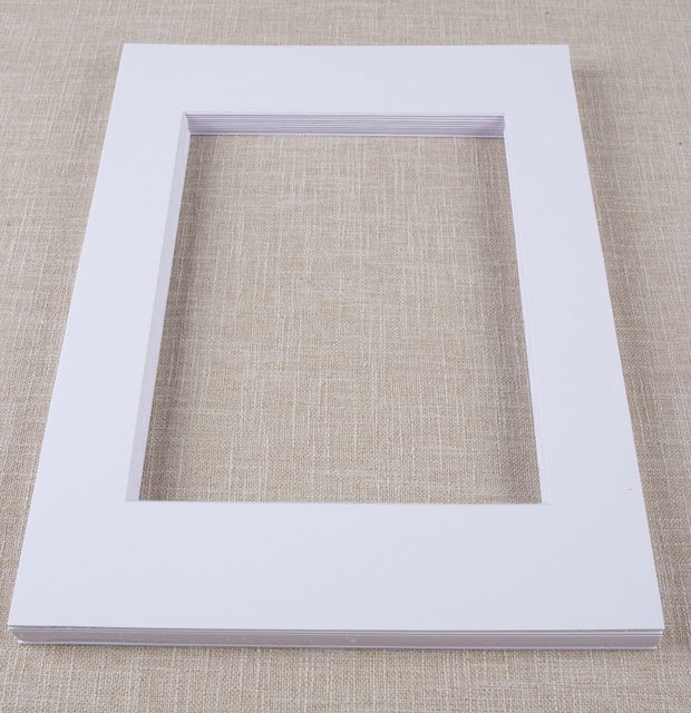 Online Shop 12pcs Pack 11x14 Inch Solid Color Pre Cut Opening
