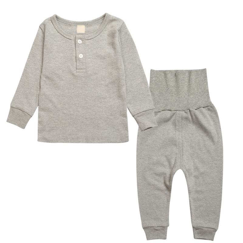 0298caaf2 Detail Feedback Questions about Children Pajamas Set Baby Long Johns ...