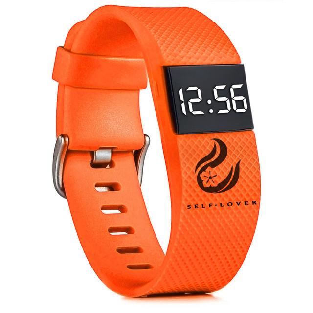 #5002Fashion Digital LED Sports Watch Unisex Silicone Band Wrist Watches Men Women DROPSHIPPING New Freeshipping Hot Sales
